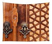 Firuz Aga Mosque Door 01 Tapestry