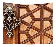 Firuz Aga Mosque Door 03 Tapestry