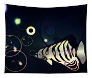 Fish Bubbles Tapestry