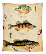 Fish Trio-c Tapestry