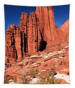 Fisher Towers Portrait Tapestry