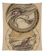 Fishes And Lobster Tapestry