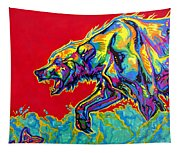 Fishing Bear Tapestry