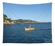 Fishing Boat - Cote D'azur Tapestry
