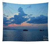 Fishing Boats Tapestry