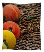 Fishing Gear Abstract Tapestry