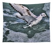 Fishing In The Foam Tapestry