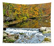 Fishing Is Relaxing Tapestry
