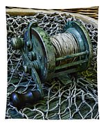 Fishing - That Old Fishing Reel Tapestry