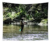 Fishing The Wissahickon Tapestry