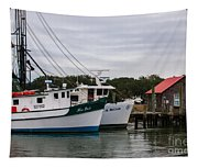 Fishing Trawlers Tapestry