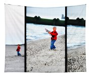 Fishing With Dad - Catch And Release Tapestry