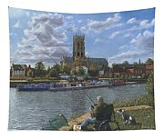 Fishing With Oscar - Doncaster Minster Tapestry