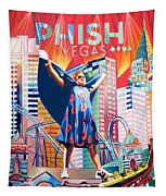 Fishman In Vegas Tapestry