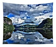 Fjords Of Norway Tapestry