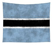 Flag Of Botswana Tapestry