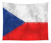 Flag Of Czech Republic Tapestry