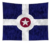 Flag Of Indianapolis Tapestry