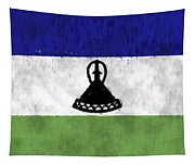 Flag Of Lesotho Tapestry