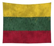 Flag Of Lithuania Tapestry