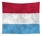 Flag Of Luxembourg Tapestry