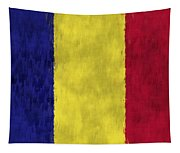 Flag Of Romania Tapestry