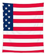 Flag Of The United States Of America Tapestry by Anonymous
