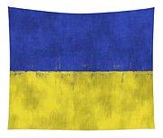 Flag Of Ukraine Tapestry
