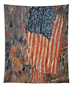 Flags On The Waldorf Tapestry