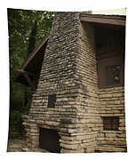 Flagstone Fireplace Tapestry