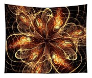 Flame Flower Tapestry