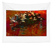 Flamingo Colours Tapestry