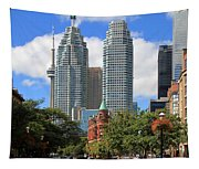 Flatiron Building Toronto 2 Tapestry