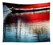 Red Boat Serenity Tapestry
