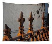 Fleur-de-lis - Cast Iron Tapestry