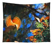 Flight Of A Monarch Tapestry