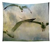 Flight Of The Seagulls Tapestry