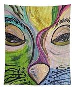 Flirty Feline ... Cat Eyes Tapestry