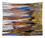Floating On Blue 12 Tapestry