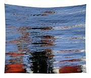 Floating On Blue 16 Tapestry