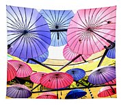 Floating Umbrella Tapestry