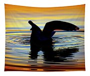 Floating Wings Tapestry
