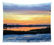 Flooded River Tapestry