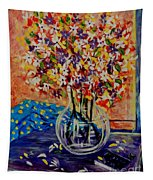 Floral Bliss Tapestry