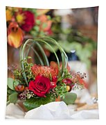 Floral Centerpiece Tapestry