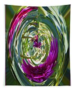 Floral Illusion 1 Tapestry