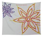 Floral Joy  Tapestry