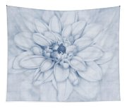 Floral Layers Cyanotype Tapestry