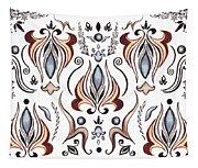 Floral Pattern I Tapestry