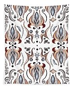 Floral Pattern IIi Tapestry